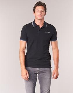 Textiel Heren Polo's korte mouwen Jack & Jones WAZ ORIGINALS Zwart