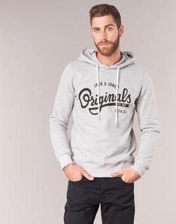 Textiel Heren Sweaters / Sweatshirts Jack & Jones HAWL ORIGINALS Grijs