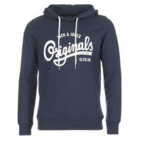 Textiel Heren Sweaters / Sweatshirts Jack & Jones HAWL ORIGINALS Marine