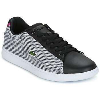 Schoenen Dames Lage sneakers Lacoste CARNABY EVO 117 1 SPW Zwart
