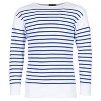 Textiel Heren T-shirts met lange mouwen Armor Lux DISJON Wit / Blauw