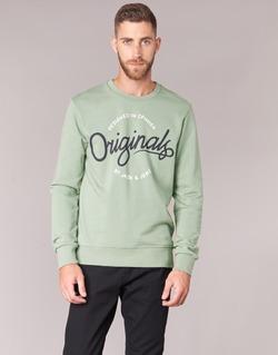 Textiel Heren Sweaters / Sweatshirts Jack & Jones SWEEP ORIGINALS Groen