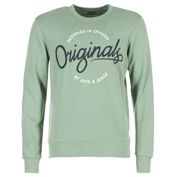 Textiel Heren Sweaters / Sweatshirts Jack & Jones SWEEP ORIGINALS Groen