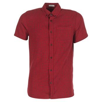Textiel Heren Overhemden korte mouwen Jack & Jones JOHAN ORIGINALS Rood