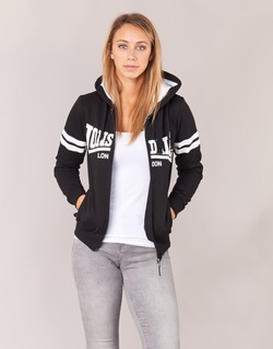 Textiel Dames Sweaters / Sweatshirts Lonsdale SHIRLEY Zwart