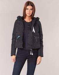 Textiel Dames Dons gevoerde jassen Armani jeans JIORM Zwart