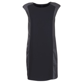 Textiel Dames Korte jurken Armani jeans LAMIC Zwart / Grijs