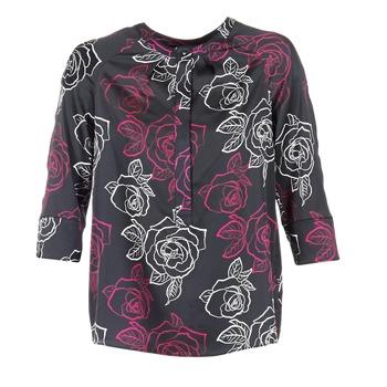 Textiel Dames Tops / Blousjes Armani jeans DRENIZ Zwart