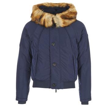 Textiel Heren Dons gevoerde jassen Armani jeans GNAN Marine