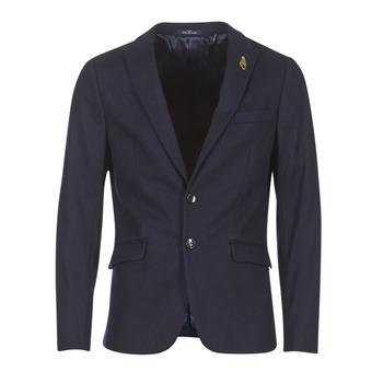 Textiel Heren Jasjes / Blazers Scotch & Soda DARLO Marine