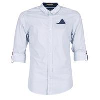 Textiel Heren Overhemden lange mouwen Scotch & Soda DARLU Wit / Blauw