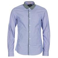 Textiel Heren Overhemden lange mouwen Scotch & Soda JILLA Blauw