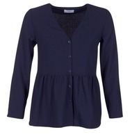 Textiel Dames Tops / Blousjes Betty London HALICE Marine