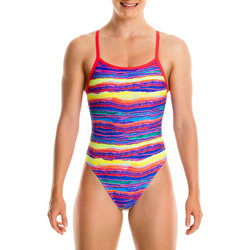 Textiel Meisjes badpak Funkita Single Strap Girls Multicolour