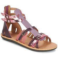 Schoenen Dames Sandalen / Open schoenen Kickers SPARTIATEN Violet / Multikleuren