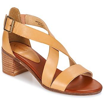 Schoenen Dames Sandalen / Open schoenen Kickers VOLTAX Beige