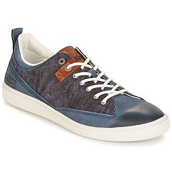 Schoenen Heren Lage sneakers Kickers SANTA FE Blauw