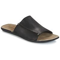Schoenen Heren Leren slippers Kickers SPIKA Zwart