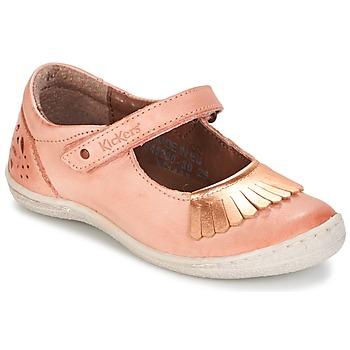 Schoenen Meisjes Ballerina's Kickers CALYPSO Corail