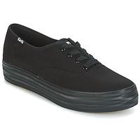Schoenen Dames Lage sneakers Keds TRIPLE Zwart