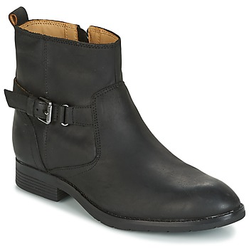 Schoenen Dames Laarzen Sebago NASHOBA LOW BOOT WP  zwart