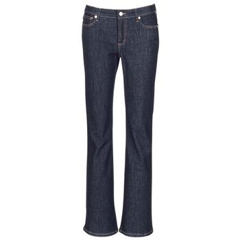 Textiel Dames Bootcut jeans Yurban IHEKIKOU BOOTCUT Blauw
