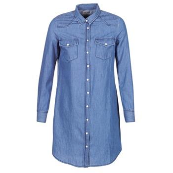 Textiel Dames Korte jurken Yurban HEBELLA Blauw