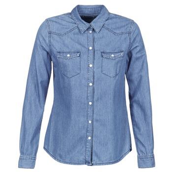 Textiel Dames Overhemden Yurban IHEFOU Blauw