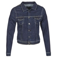 Textiel Dames Spijker jassen Betty London IHELEFI Blauw / Medium