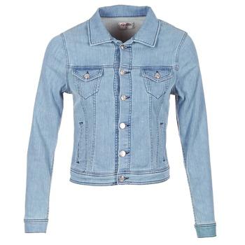 Textiel Dames Spijker jassen Yurban HELEFI Blauw / CLAIR