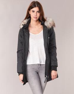 Textiel Dames Parka jassen Only IRIS Zwart