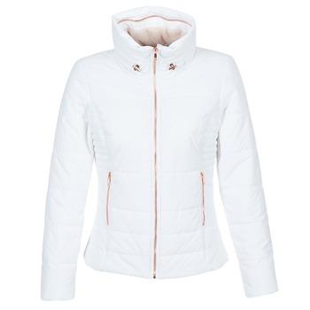 Textiel Dames Dons gevoerde jassen Only BROOKE Wit