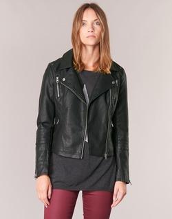 Textiel Dames Leren jas / kunstleren jas Only MADDY Zwart