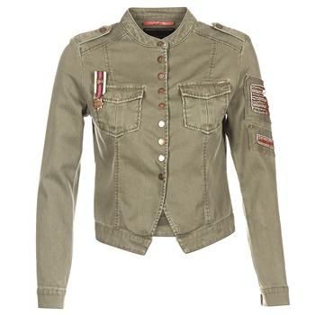 Textiel Dames Jasjes / Blazers Only NEW AUSTIN Kaki