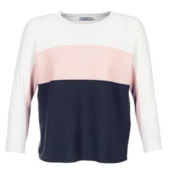 Textiel Dames Truien Only REGITZE Wit / Roze / Marine