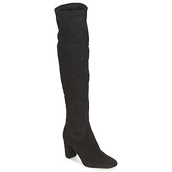 Schoenen Dames Lieslaarzen Bocage FLORIAN Zwart