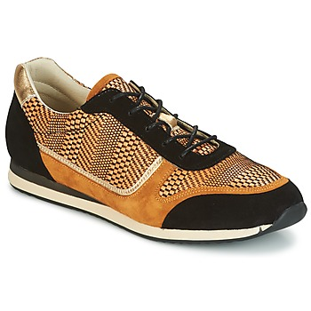 Schoenen Dames Lage sneakers Bocage LAURETTE Zwart / Ocre