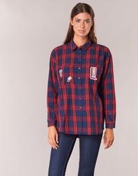 Textiel Dames Overhemden Yurban HERDON Rood