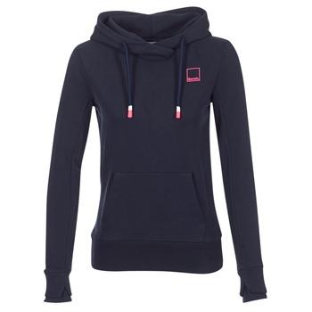 Textiel Dames Sweaters / Sweatshirts Bench HER.HOODY CORP LOGO BACK Marine
