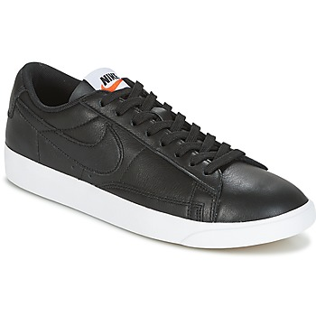 Schoenen Dames Lage sneakers Nike BLAZER LOW LEATHER W Zwart