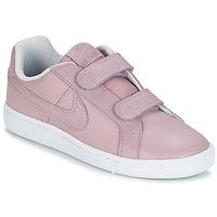Schoenen Meisjes Lage sneakers Nike COURT ROYALE CADET Roze