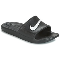 Schoenen Heren Slippers Nike KAWA SHOWER SLIDE Zwart / Wit