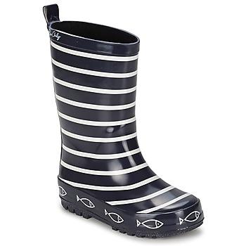 Schoenen Kinderen Regenlaarzen Be Only TIMOUSS Marine