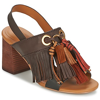Schoenen Dames Sandalen / Open schoenen See by Chloé SB30102 Brown
