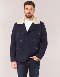 Textiel Heren Mantel jassen Casual Attitude HAXO Marine