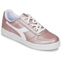 Schoenen Dames Lage sneakers Diadora B ELITE I METALLIC WN Brons