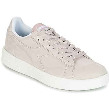 Schoenen Dames Lage sneakers Diadora GAME WIDE NUBE Taupe