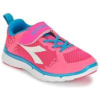 Schoenen Meisjes Lage sneakers Diadora NJ-303-1 JR Roze