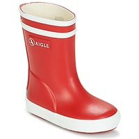 Schoenen Kinderen Regenlaarzen Aigle BABY FLAC Rood / Wit