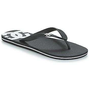Schoenen Heren Slippers DC Shoes SPRAY M SNDL BLW Zwart / Wit